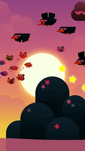 Birdy Trip Android Mobile Phone Game Image 2