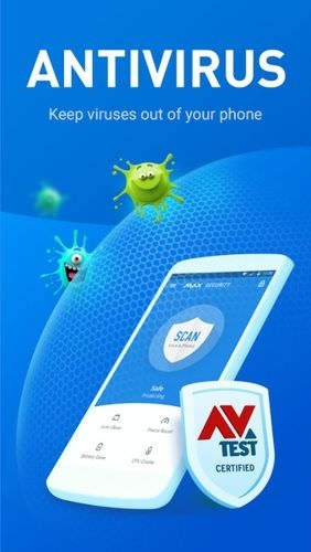 MAX Security - Virus Cleaner Android Application Image 1