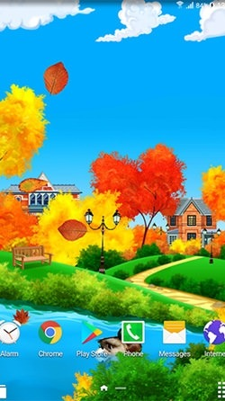 Autumn Sunny Day Android Wallpaper Image 2