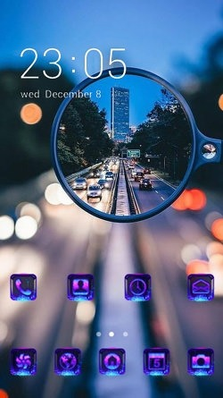 Expressway CLauncher Android Mobile Phone Theme Image 1