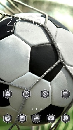 Goal CLauncher Android Theme Image 1