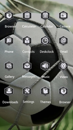 Goal CLauncher Android Theme Image 2