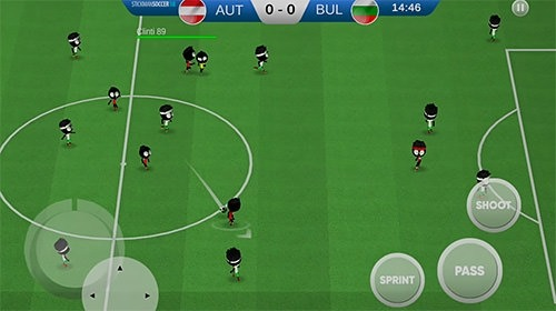 Stickman Soccer 2018 Android Game Image 2