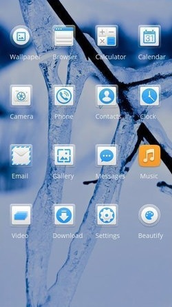Download Free Android Theme Snow CLauncher - 3676 - MobileSMSPK net