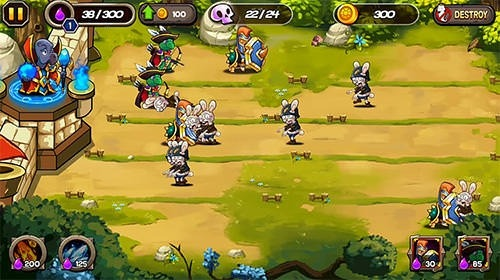 Zombie Rabbits Vs Sheldon Android Game Image 1