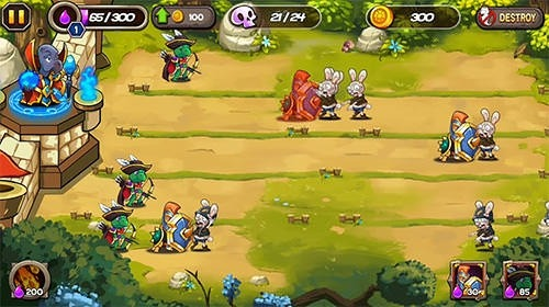 Zombie Rabbits Vs Sheldon Android Game Image 2