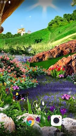 Butterflies 3D Android Wallpaper Image 2
