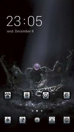 Demon CLauncher Android Theme Image 1
