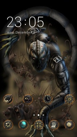 Devil CLauncher Android Theme Image 1