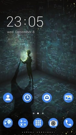 Alone CLauncher Android Theme Image 1