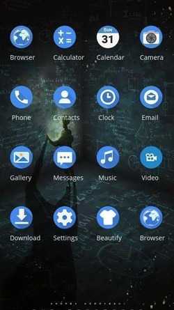 Alone CLauncher Android Theme Image 2
