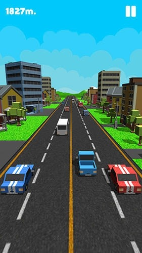 Double Traffic Race Android Game Image 1