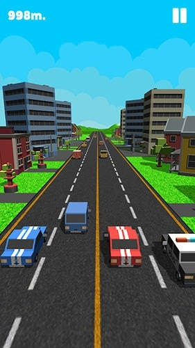 Double Traffic Race Android Game Image 2