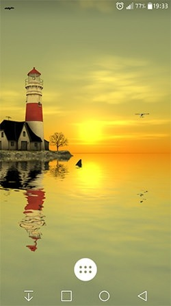 Lighthouse 3D Android Wallpaper Image 1