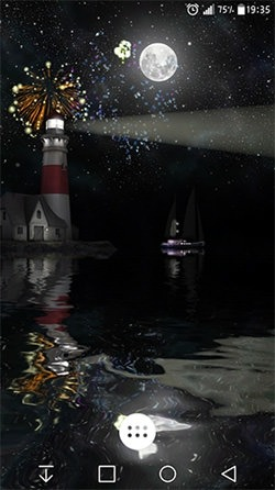 Lighthouse 3D Android Wallpaper Image 2