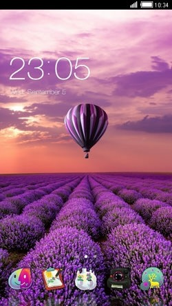 Air Balloon CLauncher Android Theme Image 1