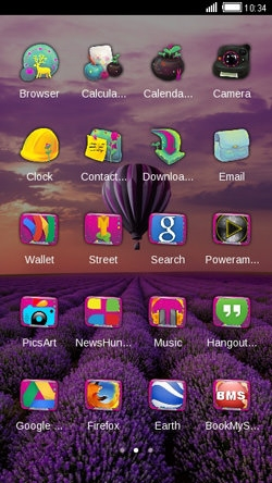Air Balloon CLauncher Android Theme Image 2