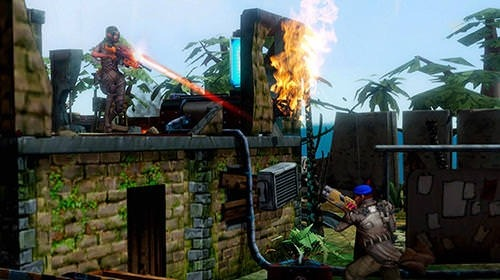 Edge Of Combat Android Game Image 1