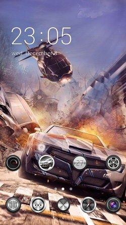 Need For Speed CLauncher Android Theme Image 1