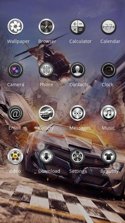 Need For Speed CLauncher Android Theme Image 2