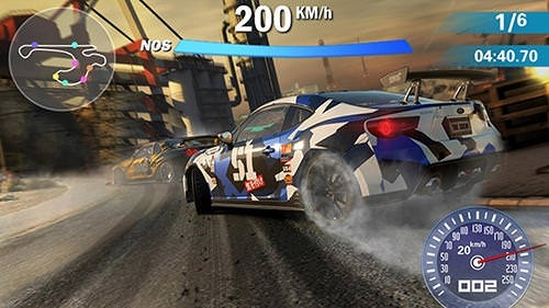 Crazy Racing Car 3D Android Game Image 1
