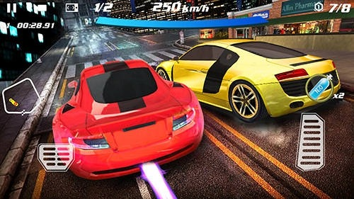 Crazy Racing Car 3D Android Game Image 2