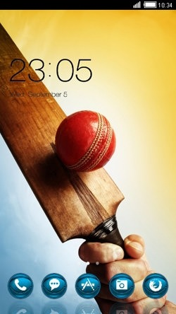 Cricket CLauncher Android Theme Image 1