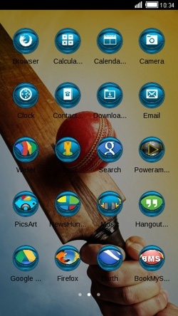 Cricket CLauncher Android Theme Image 2