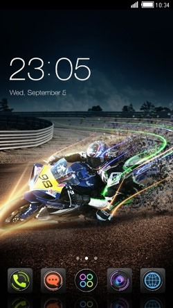 Motorbike CLauncher Android Theme Image 1
