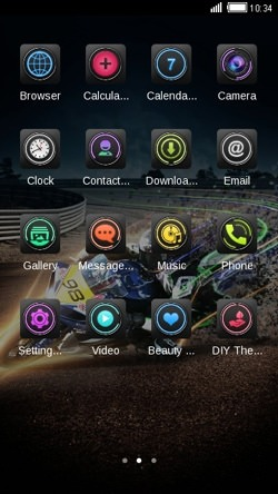 Motorbike CLauncher Android Theme Image 2