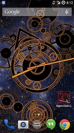 Hypno Clock Android Wallpaper Image 3