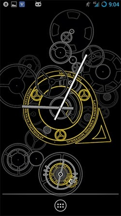 Hypno Clock Android Wallpaper Image 4