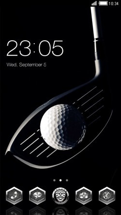 Golf CLauncher Android Theme Image 1