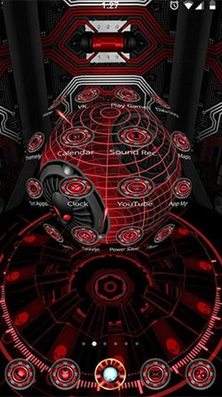 Alien Spider 3D Android Wallpaper Image 1