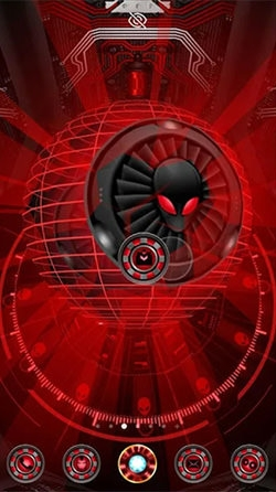 Alien Spider 3D Android Wallpaper Image 2