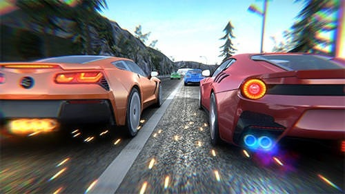 Rush Hour Racing Android Mobile Phone Game Image 1