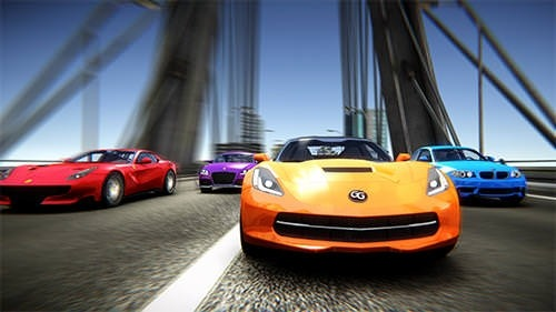 Rush Hour Racing Android Mobile Phone Game Image 2