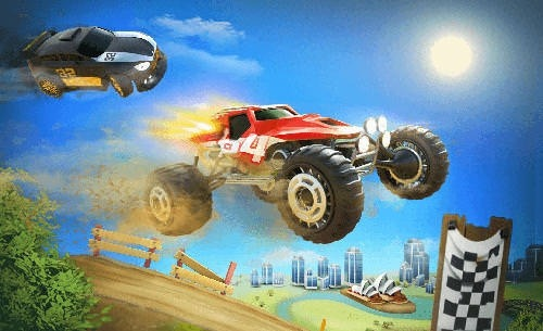 Fearless Wheels Android Mobile Phone Game Image 1