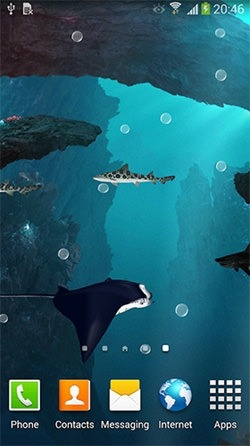 Sharks 3D Android Wallpaper Image 1