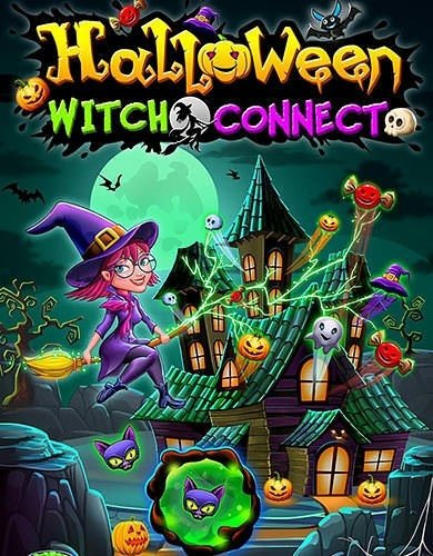 halloween witch connect android game image 1