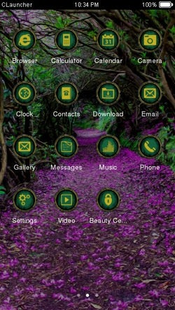 Spring CLauncher Android Theme Image 2