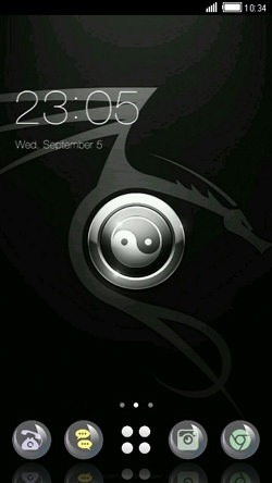 Yin Yang CLauncher Android Theme Image 1