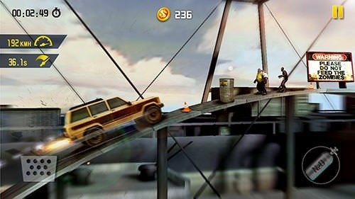 Zombie Road Escape: Smash All The Zombies On Road Android Game Image 2