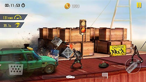Zombie Road Escape: Smash All The Zombies On Road Android Game Image 3