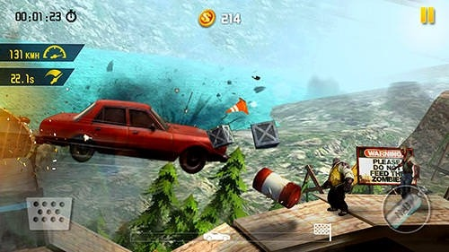Zombie Road Escape: Smash All The Zombies On Road Android Game Image 4