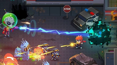 Aliens Agent: Star Battlelands Android Game Image 3