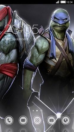 Ninja Turtles CLauncher Android Theme Image 1