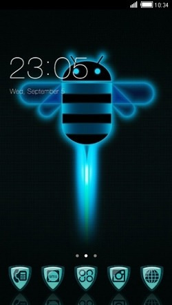 Beedroid CLauncher Android Theme Image 1