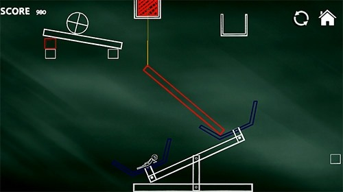 Brain Hit On: Stickman Rope Swing Puzzle Games Android Game Image 2