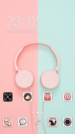 Headphone CLauncher Android Theme Image 1